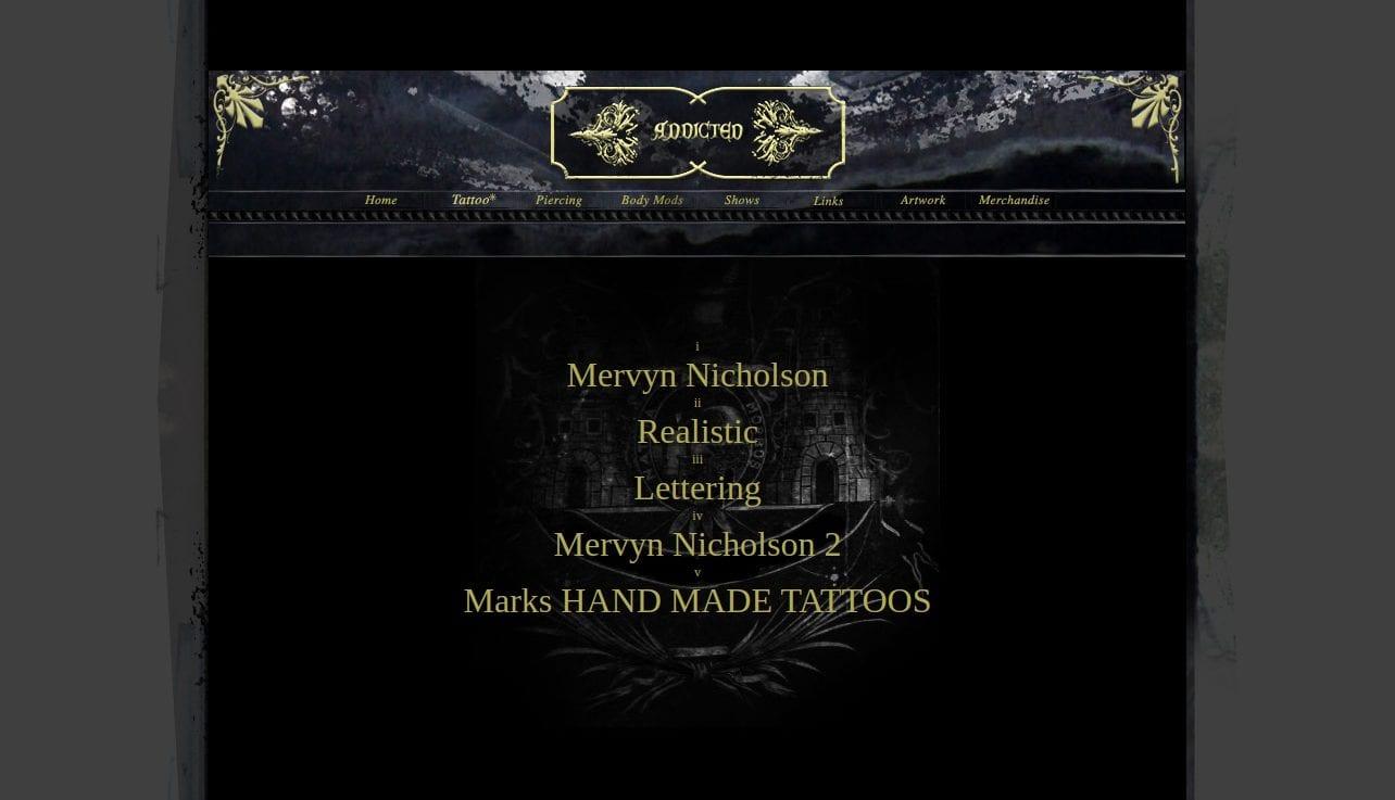 Addicted Tattoo