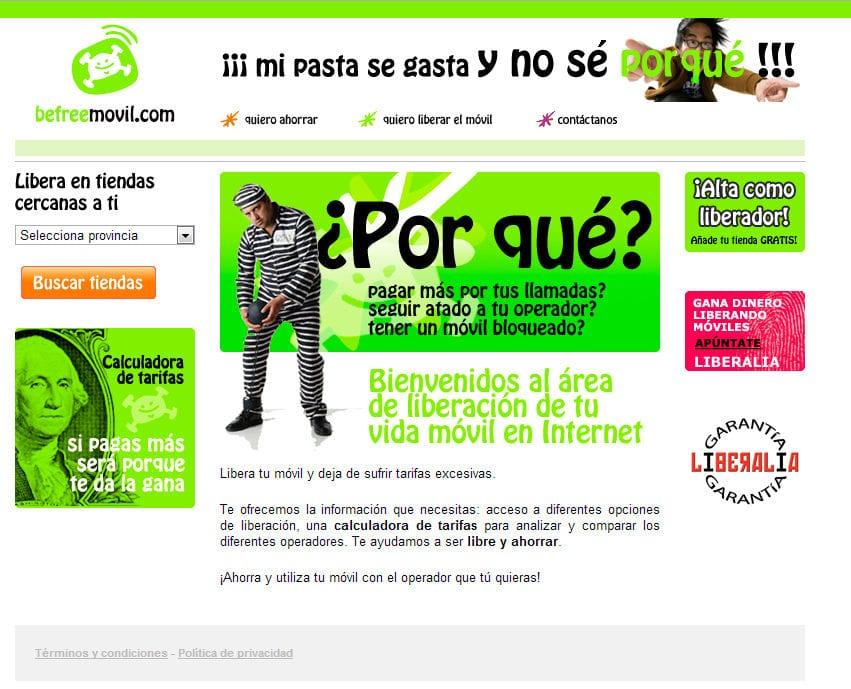 Befreemovil.com